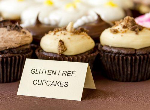 Cupcakes de chocolate sin gluten: pérdida de peso poco saludable