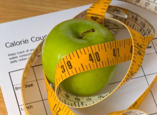 Contando calorías: pérdida de peso poco saludable