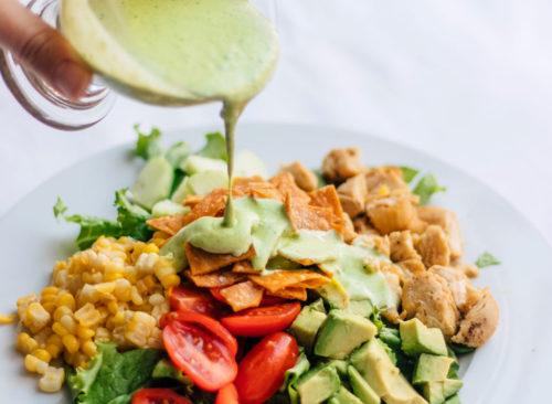 Taco Salad Bowl: pérdida de peso poco saludable