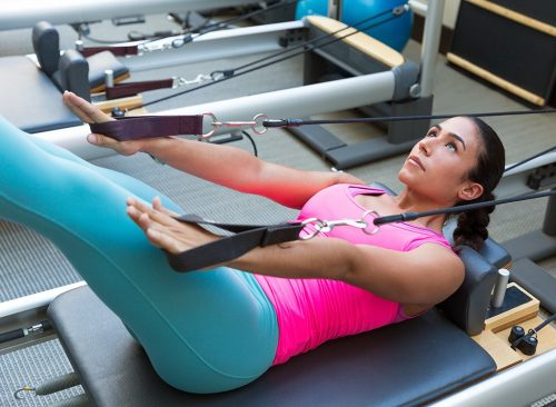 Mujer pilates