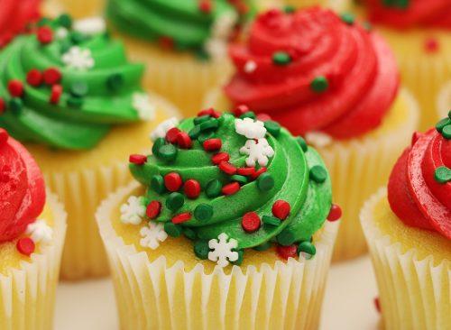 pastel de Navidad