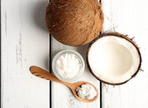 Una cucharada de aceite de coco